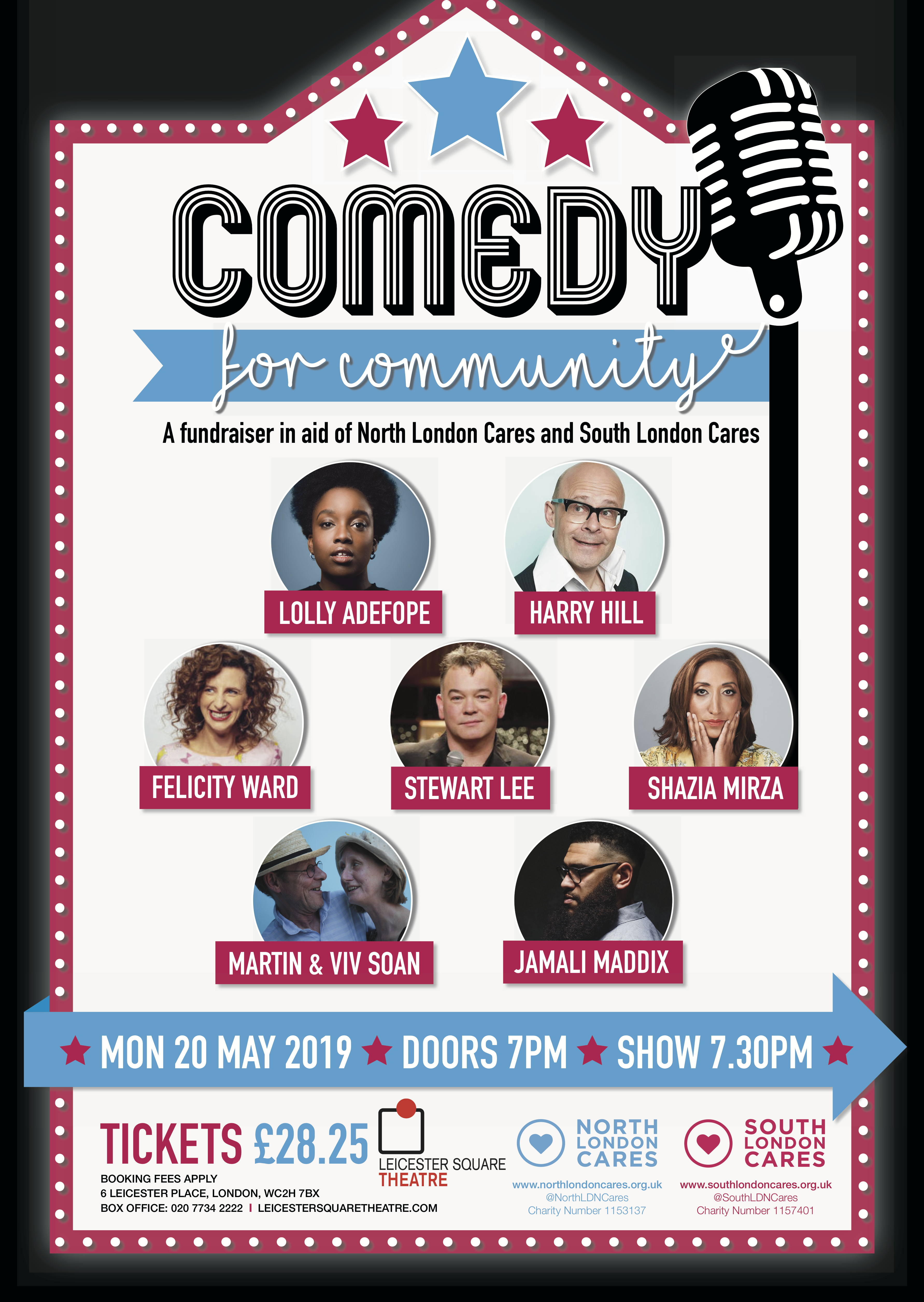 A1 Poster Comedy For Community Final