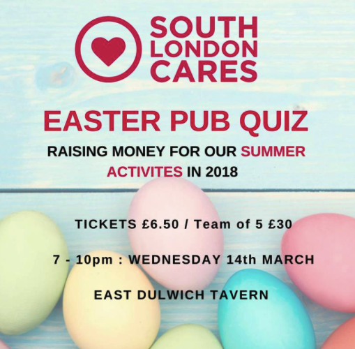 Wave goodbye to winter: come along to our spring pub quiz! - South